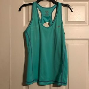 AVIA Med Green Workout Tank Top Wicking Workout
